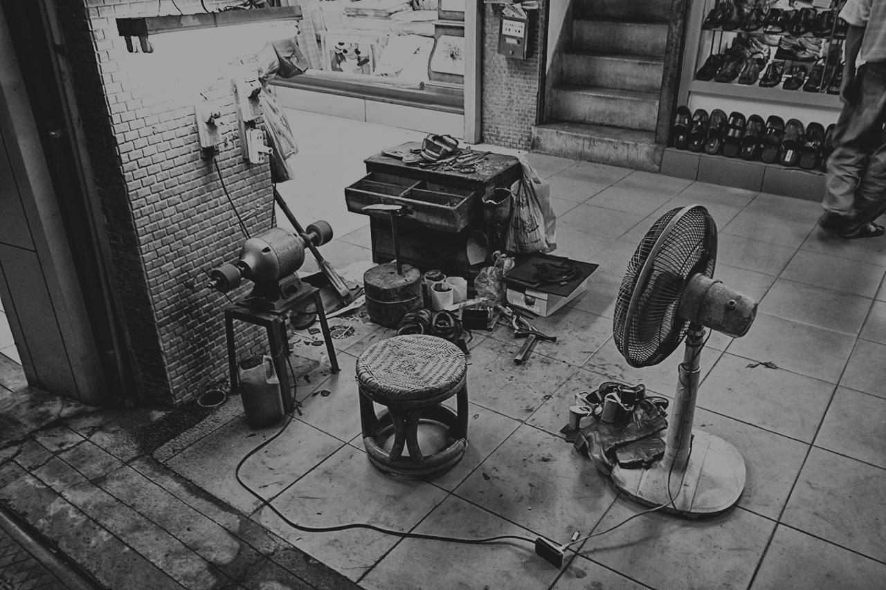tools of a cobbler